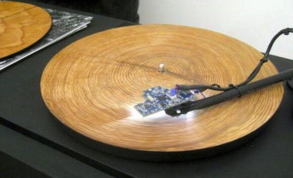 sie stanie kiedy sloje drzewa znajda sie na gramofonie 1
