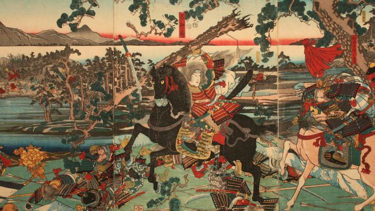 kobiety samuraje zadrzyj z nia a bedziesz mial klopoty