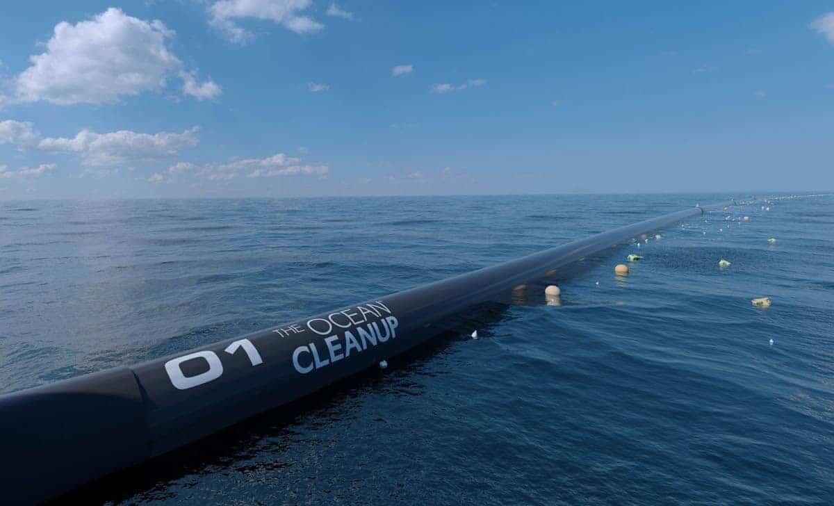 poczatek oczyszczania oceanu z plastikowych smieci 1