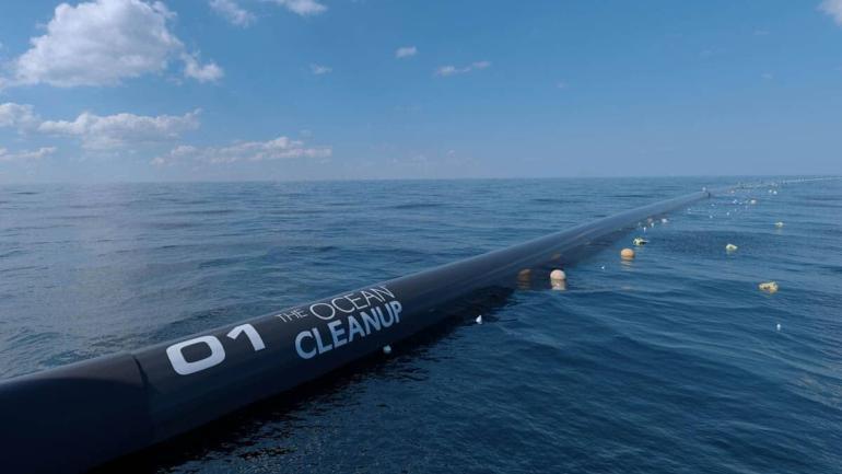 poczatek oczyszczania oceanu z plastikowych smieci