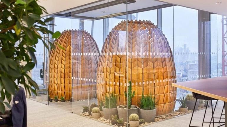 biofilny design biurze londynie idealne miejsce pracy i wypoczynku