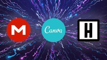 praca moc energia wspierane przez mega nz canve oraz headliner app