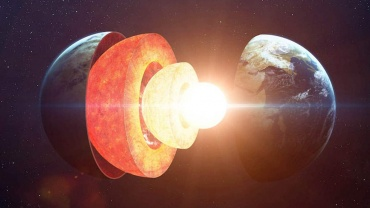 ciezkie izotopy zelaza wyciekaja z jadra ziemi