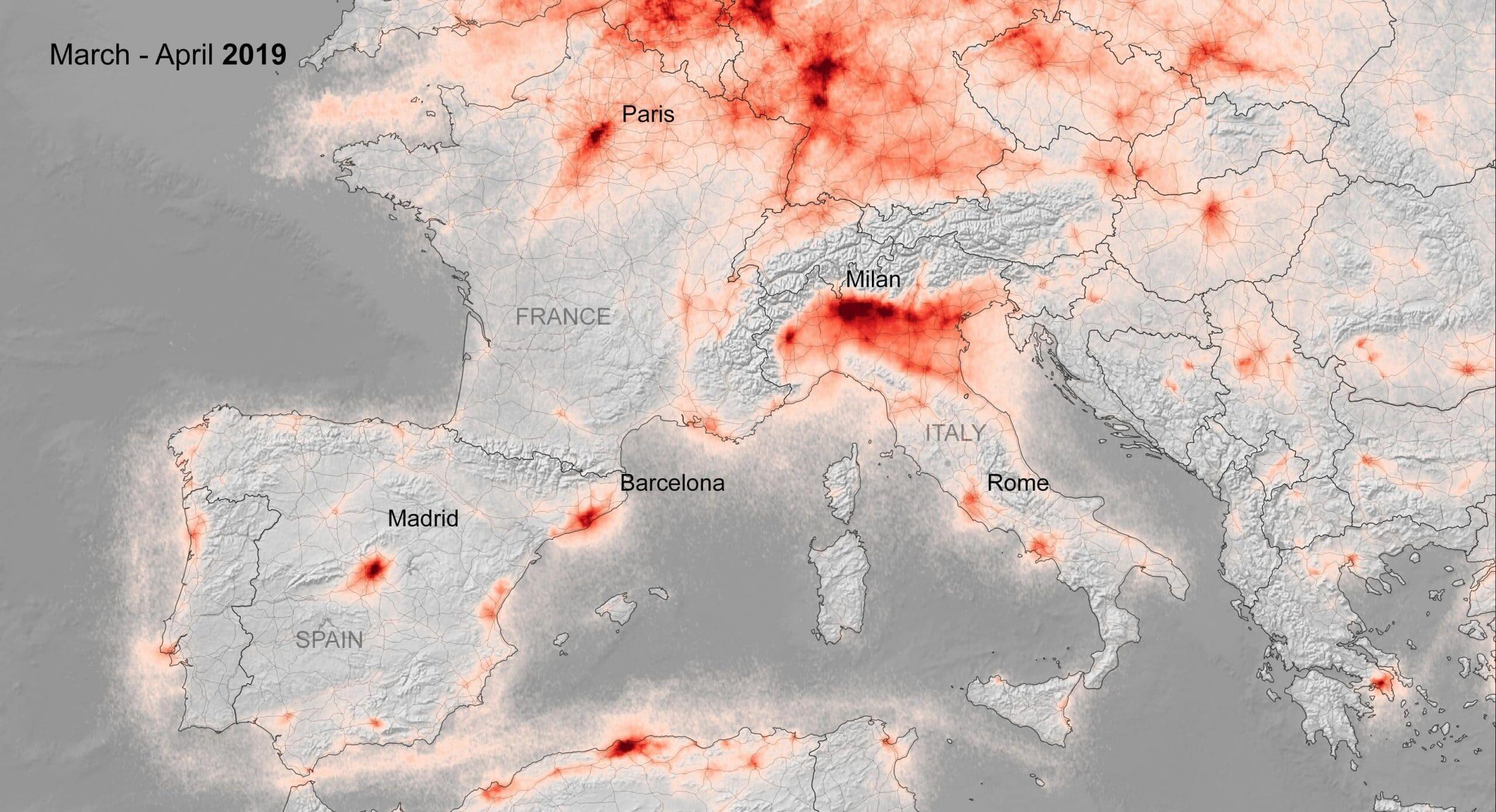 niesamowite zdjecia satelitarne pokazuja spadek zanieczyszczenia powietrza odkad europejczycy pozostaja w domach 02