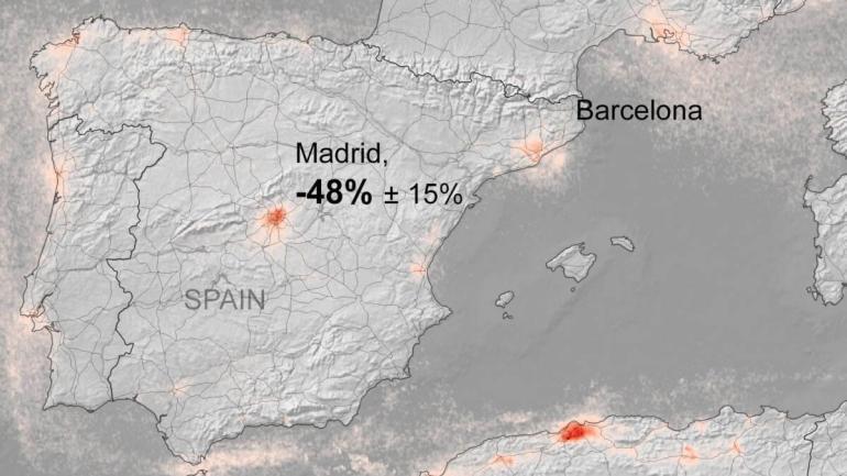 niesamowite zdjecia satelitarne pokazuja spadek zanieczyszczenia powietrza odkad europejczycy pozostaja w domach