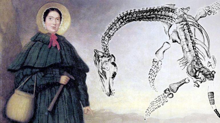 mary anning brytyjska lowczyni skamielin ktorej odkrycia przyczynily sie do rozwoju paleontologii